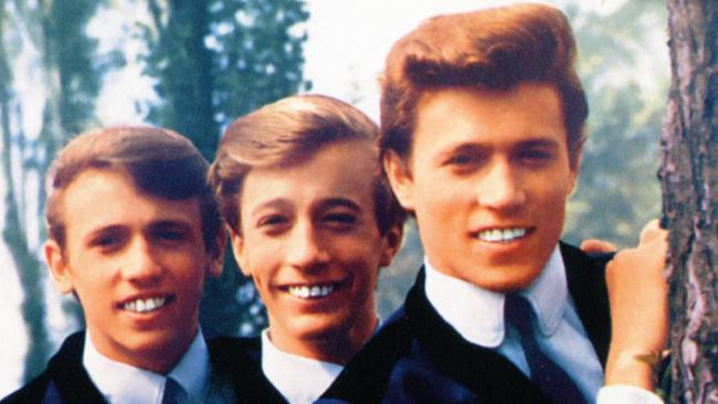 The Bee Gees in their heyday.