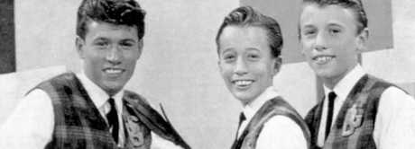 Barry, Robin and Maurice Gibb in 1963.