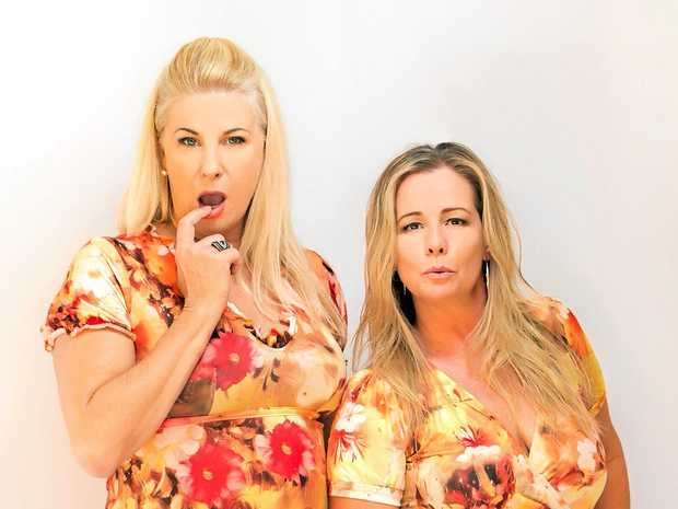 FUNNY: Comedians Mandy Nolan and Ellen Briggs will be bringing their show Women Like Us to Beaudesert.