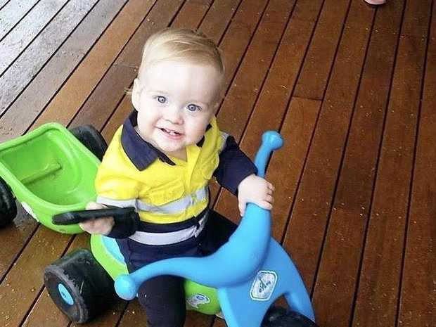 Tugun boy Nixon Melville has been undergoing chemotherapy for high risk stage four neuroblastoma.