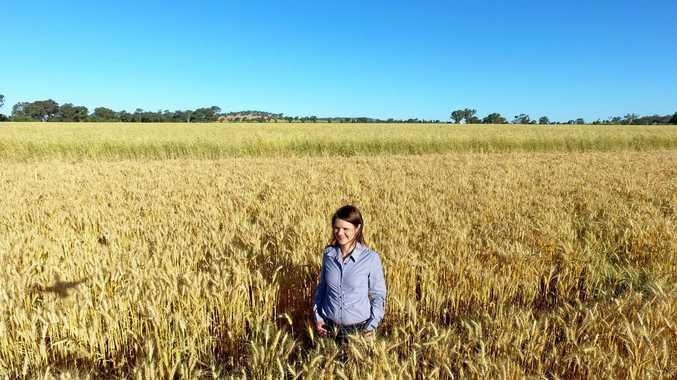 FarmPay founder Namoi Stuart, a grain farmer and chartered accountant.