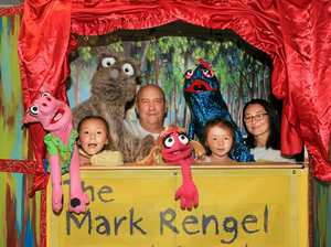 Mark finds big joy in puppet theatre
