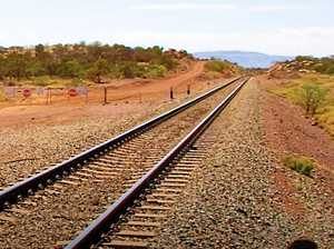 Rail line to split ag land