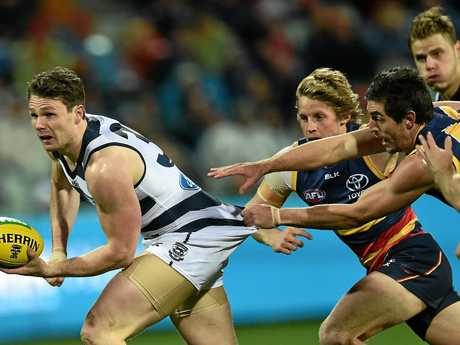 Patrick Dangerfield of the Geelong Cats