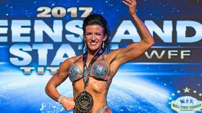 WINNER: New State champion, Paula-Jean Allen from Sarina.