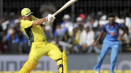 Aaron Finch goes on the attack.