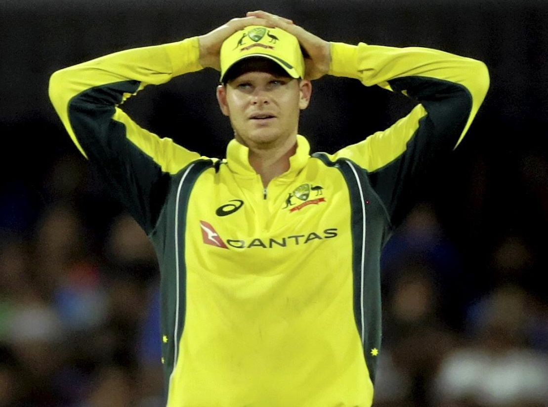 Aussie skipper Steve Smith dropped a crucial catch in the defeat to India.