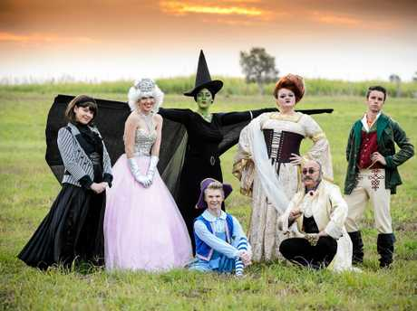 WICKED: The cast of the Bundaberg Playhouse Theatre as excited tickets to the show sold out in record time.