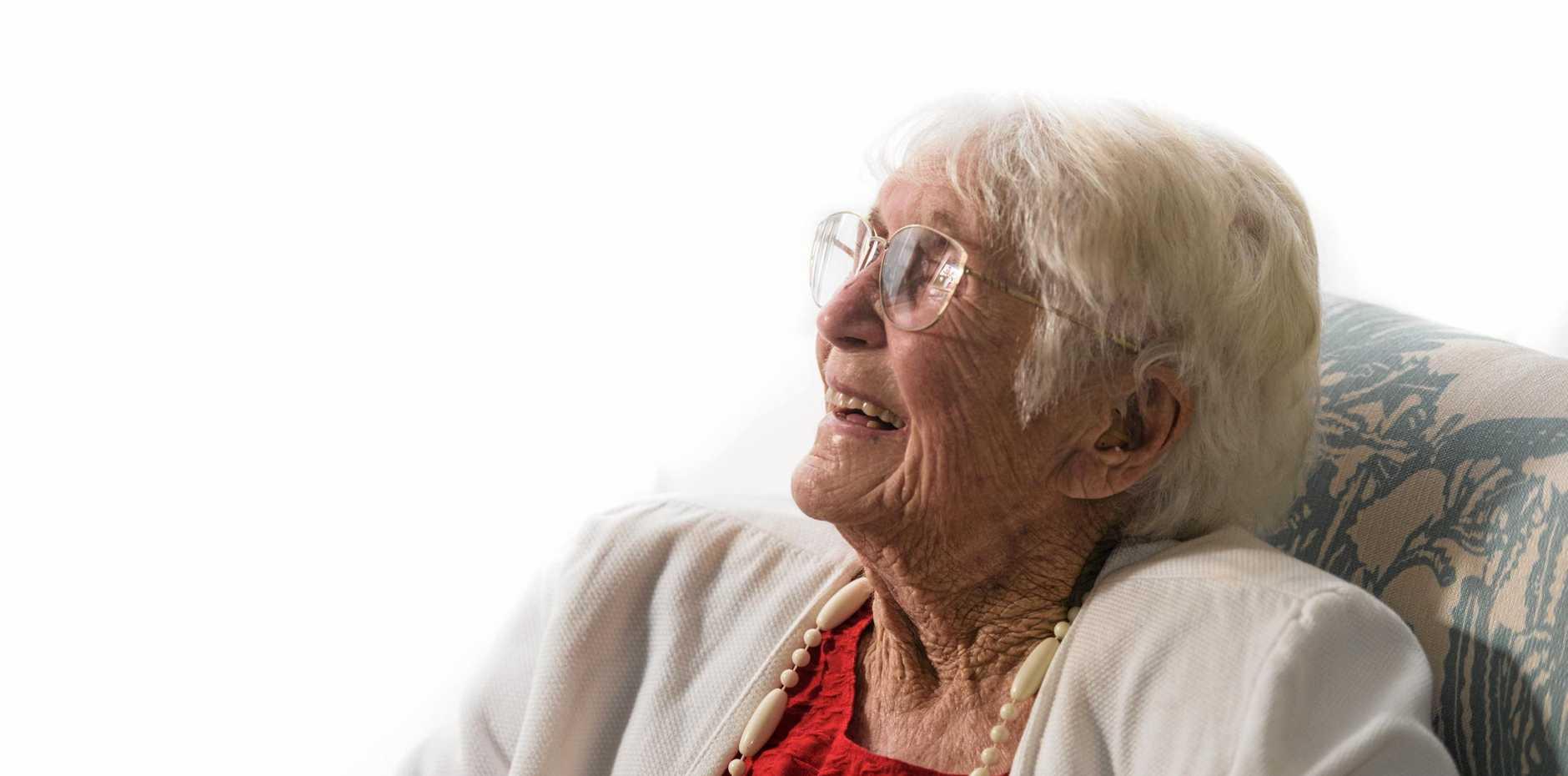 BIRTHDAY GIRL: Irene Crispin celebrates her 104th birthday at Whiddon Group Grafton.