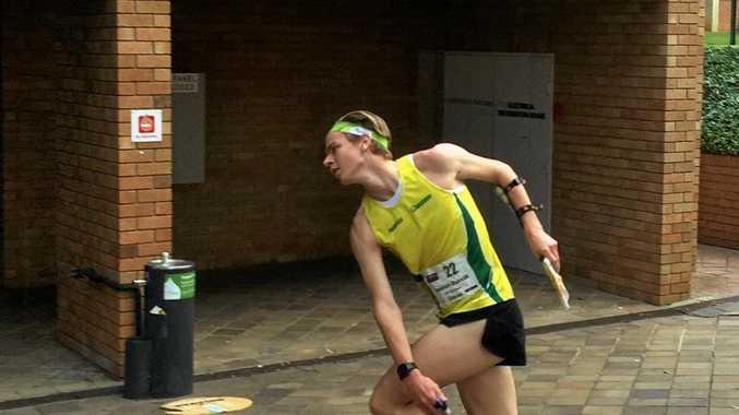 BRONZE: Simeon Burrill has enjoyed a successful national championships.