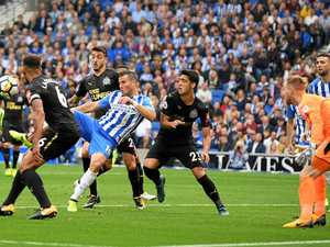 Hemed goal gives Brighton second EPL win