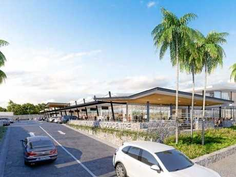 CCN Architects have designed a neighbourhood shopping centre for the Epiq development at Lennox Head.