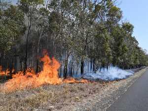 GRASS FIRE - Raines Road South Kolan