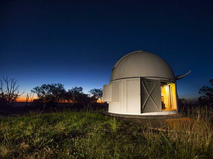 The Mount Kent Observatory at Cambooya.