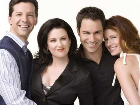 Will & Grace stars Sean Hayes, Megan Mullally, Eric McCormack and Debra Messing.