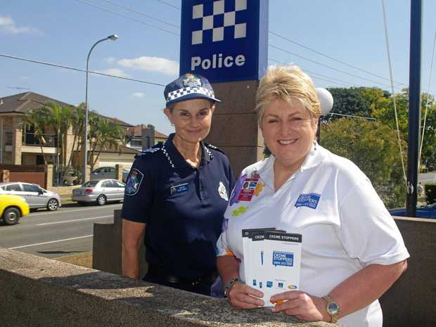 Sergeant Kerry McKay and Cheryl Warnock want more people to join Crime Stoppers.