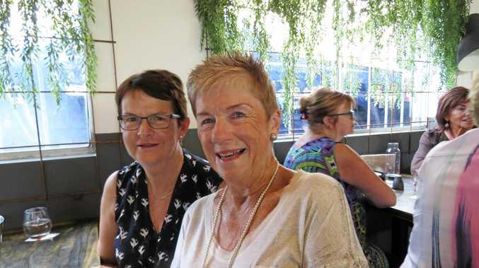 Jill Stirling and Judy Logan