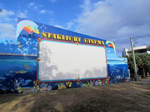 The new Cabarita Beach Outdoor Cinema has taken shape in the park behind Cabarita Surf Life Saving Club.