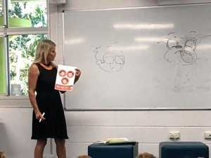Author speaks to pre-Preps about stories and drawing