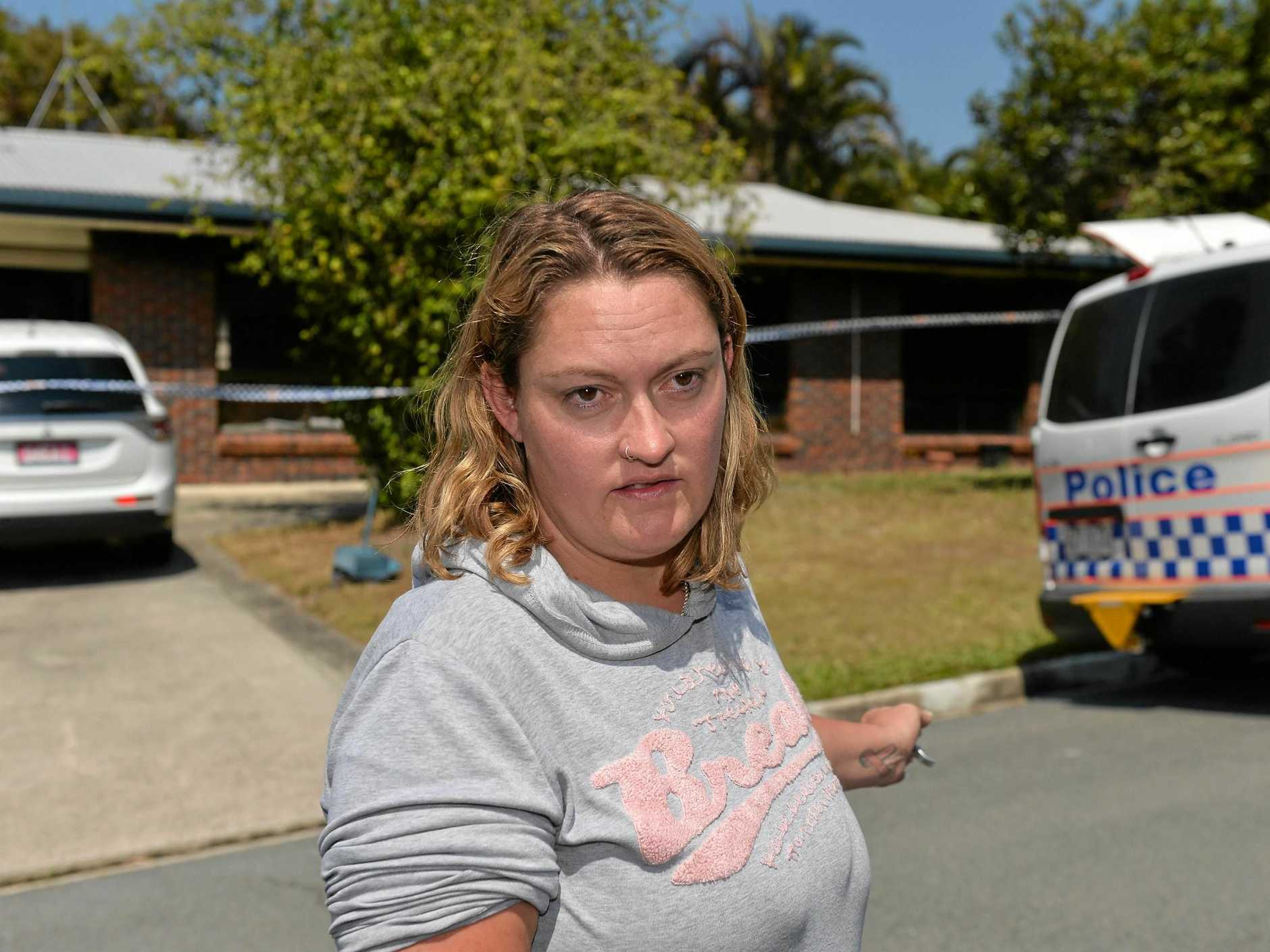 Nikki Cooper was a tenant at the house that was gutted by fire at Aroona.