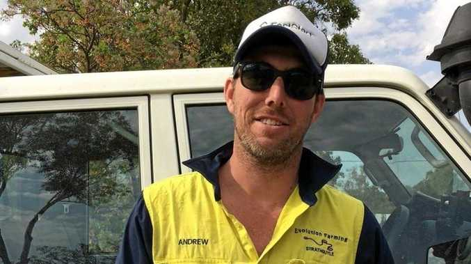 Cotton grower Andrew O'Connor (Mungindi).