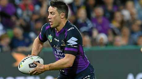 Melbourne and Queensland halfback Cooper Cronk.
