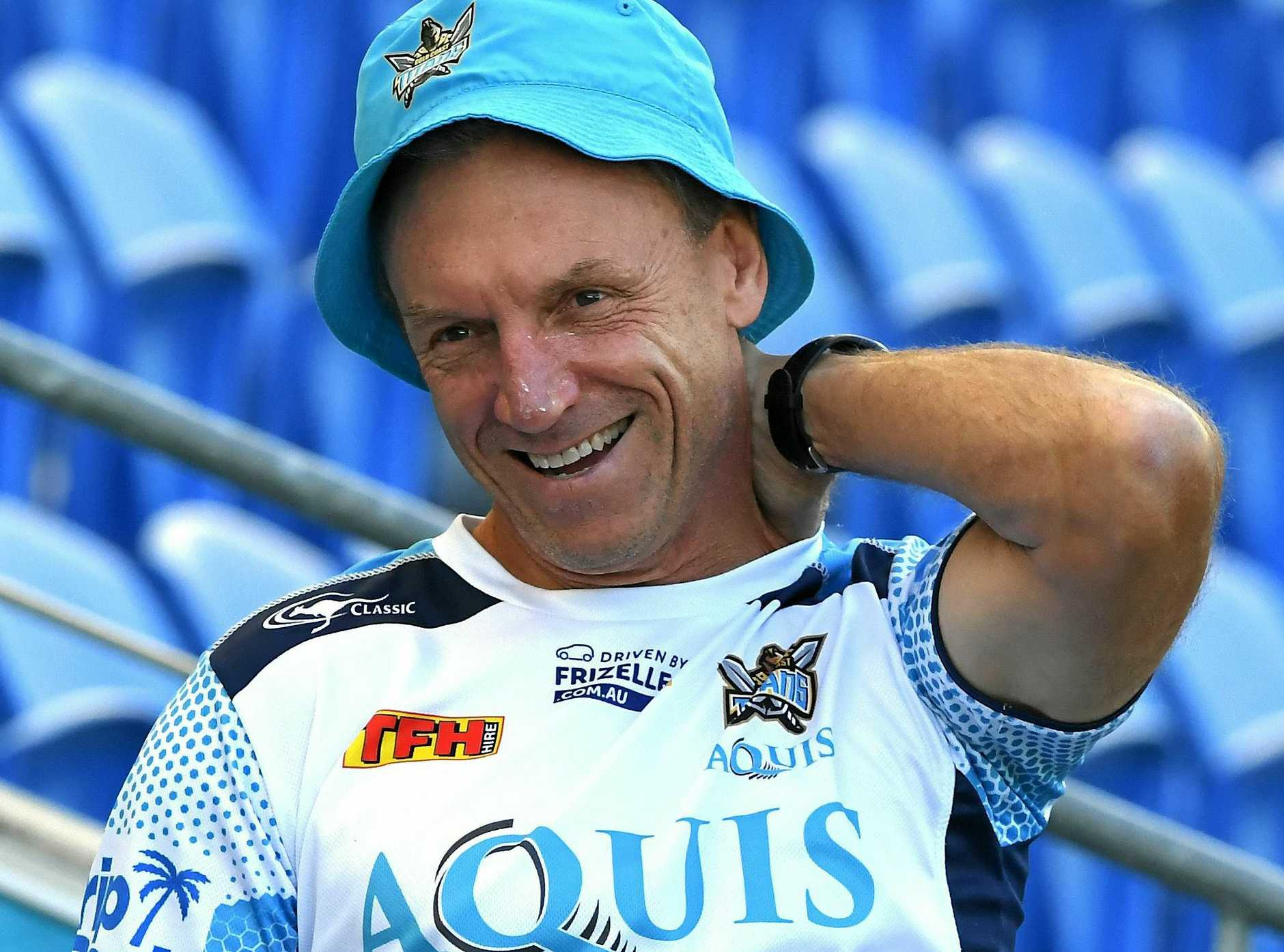Sacked Gold Coast Titans coach Neil Henry.