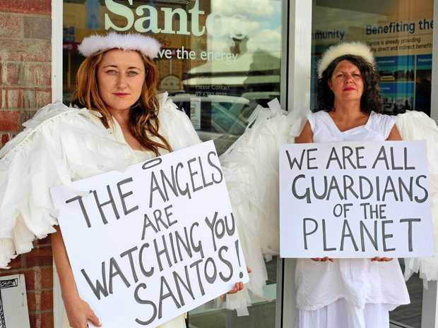 A GROWING number of Northern Rivers anti-gas protestors have travelled to the Pilliga to campaign against CSG miner Santos' Narrabri Gas Project.