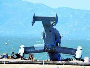 Osprey wreckage