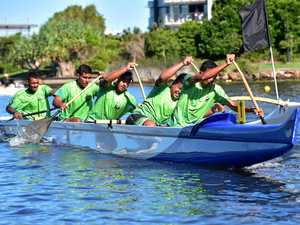 Australian outrigger talent to hit water