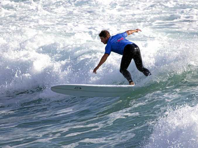 Dean Bevan of Kingscliff has qualified for next year's WSL professional longboard tour. He's among the favourites in for the annual Evans Head Malibu Classic.