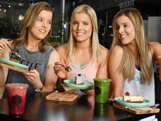 The Taeuber triplets — Amy, Sophie, Kate — are moving on from the Seven saga and starting a doco series where they try fad diets.