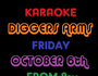 Sing and Dance the night away with our huge selection of karaoke songs. 
