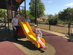 Playground in Maryborough has new fence