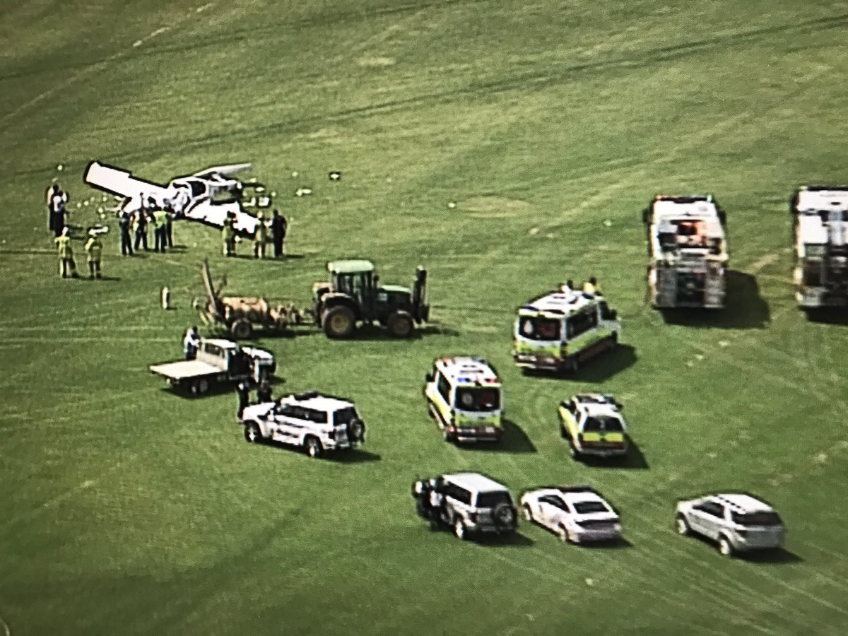 Two people have been killed in a light plane crash at Allenview, near Jimboomba. 