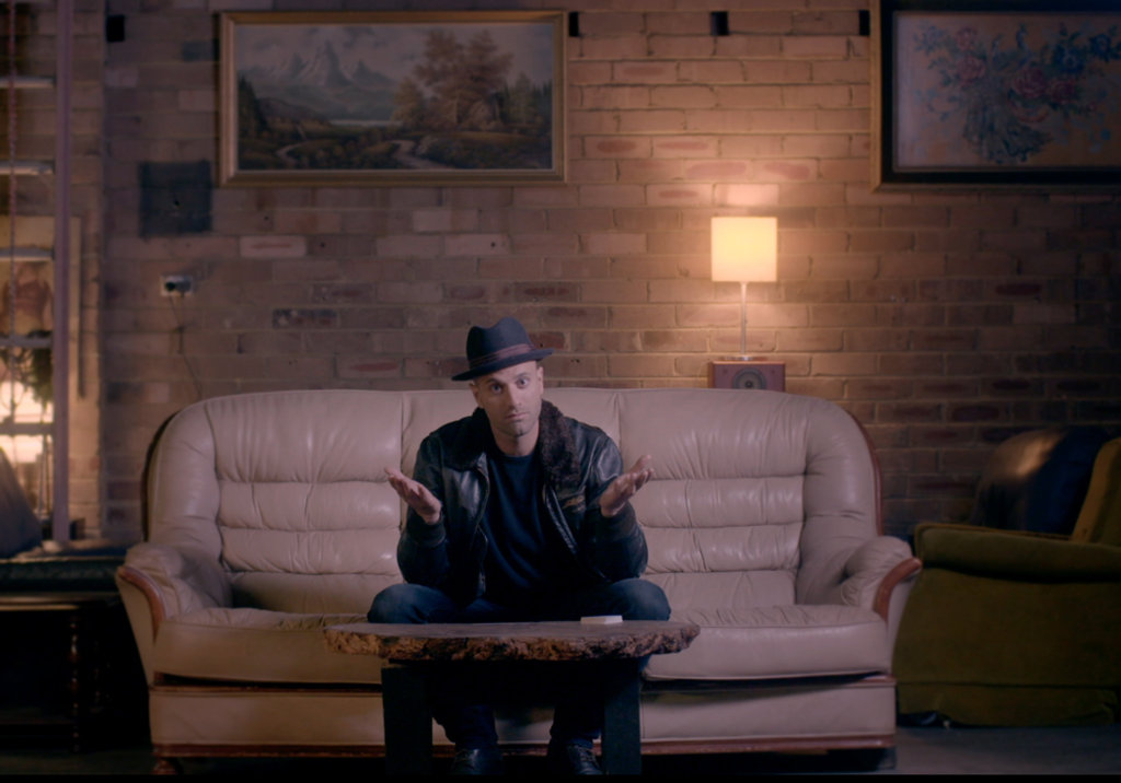 James Galea in a scene from Best Trick Ever.