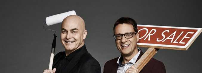Neale Whitaker and Andrew Winter host the new TV series Love It or List It Australia.