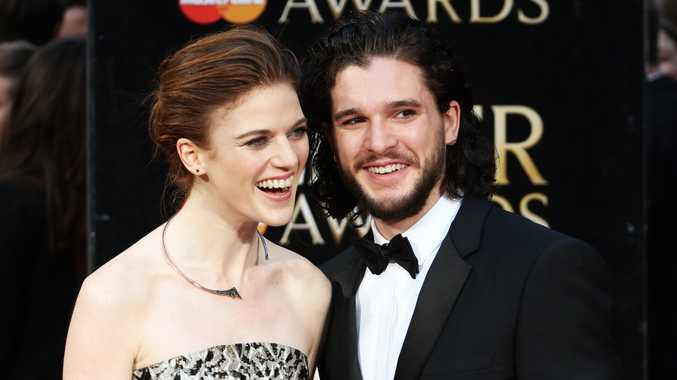 British actor Kit Harington and British actress Rose Leslie are reportedly engaged.