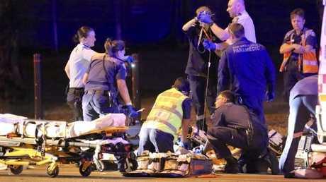 Paramedics worked frantically to save Natasha's life.Source:News Corp Australia