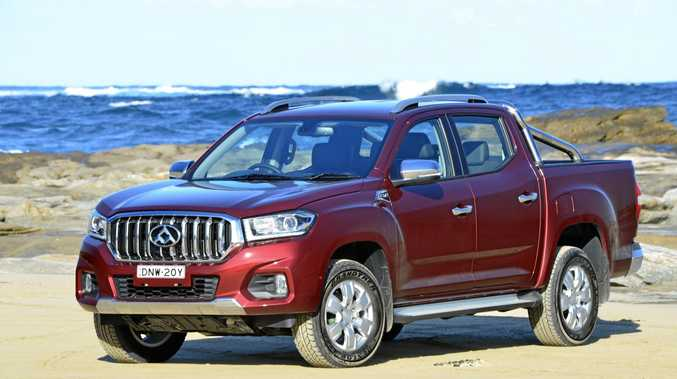 The LDV T60 ute LUXE edition.
