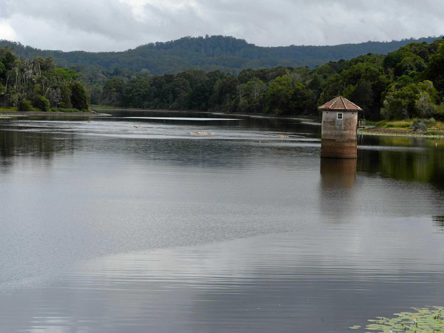 Rocky Creek dam. Photo Cathy Adams / The Northern Star