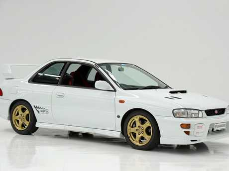 This rare 1999 Subaru Impreza WRX STI two-door coupe exceeded expectations when it sold for $54,000.