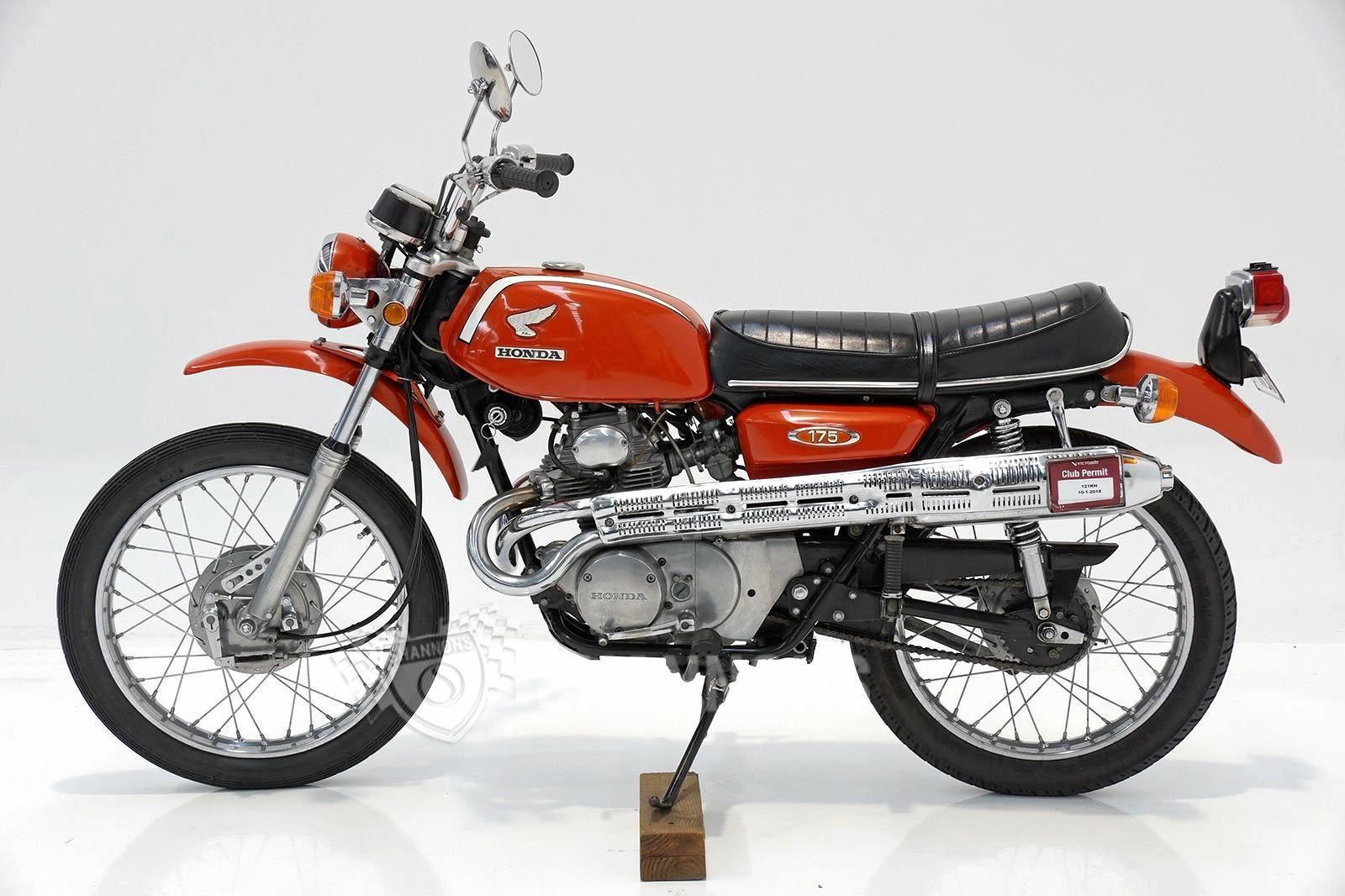This 1969 Honda CL175 sold for $4500.