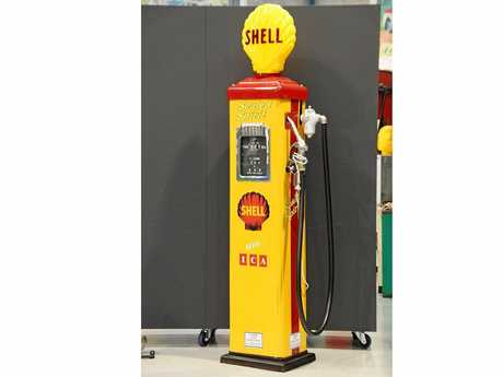 Even this restored Gilbarco CM petrol pump in Shell Livery went for $7000.