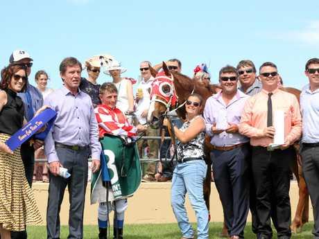Local Bowen horse Harden Up Princess won Race 2 last year.