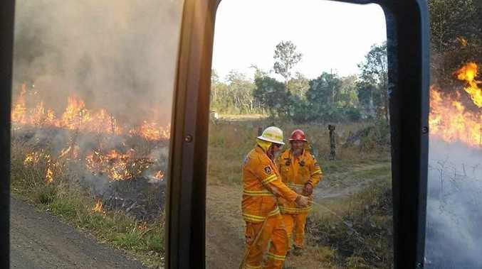 Rural Fire personnel will be on heightened alert with extreme temperatures predicted tomorrow.