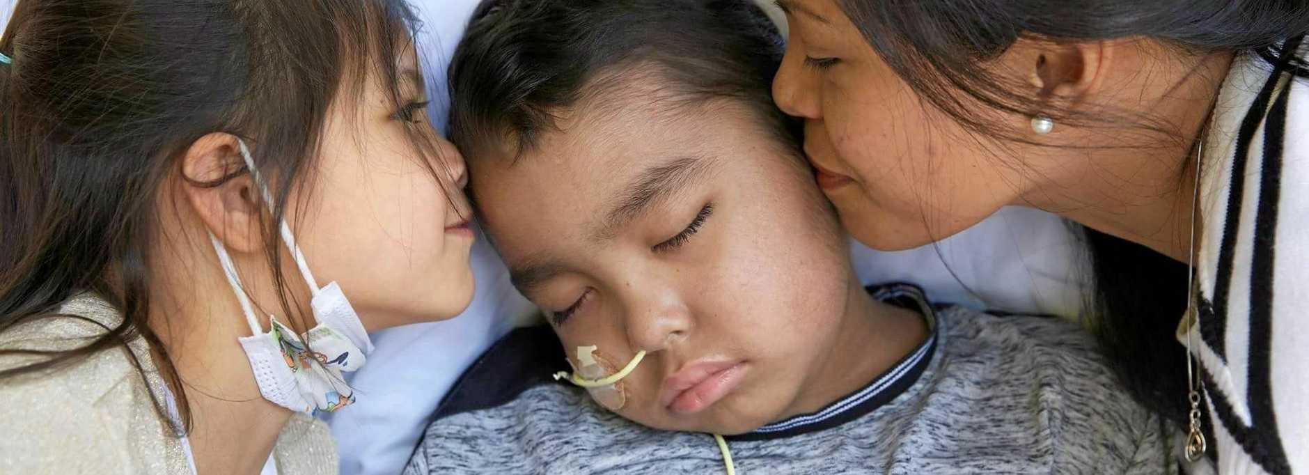 TRIBUTES FLOWING: Coast schoolboy Micah Murdoch has lost his battle with leukemia.