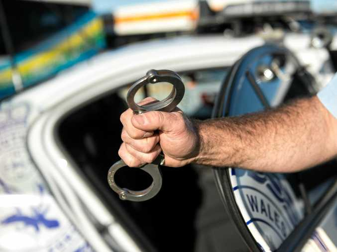 A man, travelling with his partner and baby, was allegedly abused by a man in Nambucca.