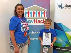 Young programmer takes home another award