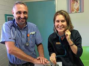 Vets team up for CPR job as favourite Coast clinic reopens